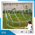 Round or long type galvanized steel sheep hay feeder