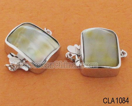 Sterling silver jewelry box clasp