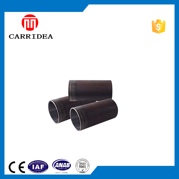 Inner surface polishing screw thread steel pipe