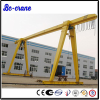 widely used mobile gantry crane portable 50 ton low price