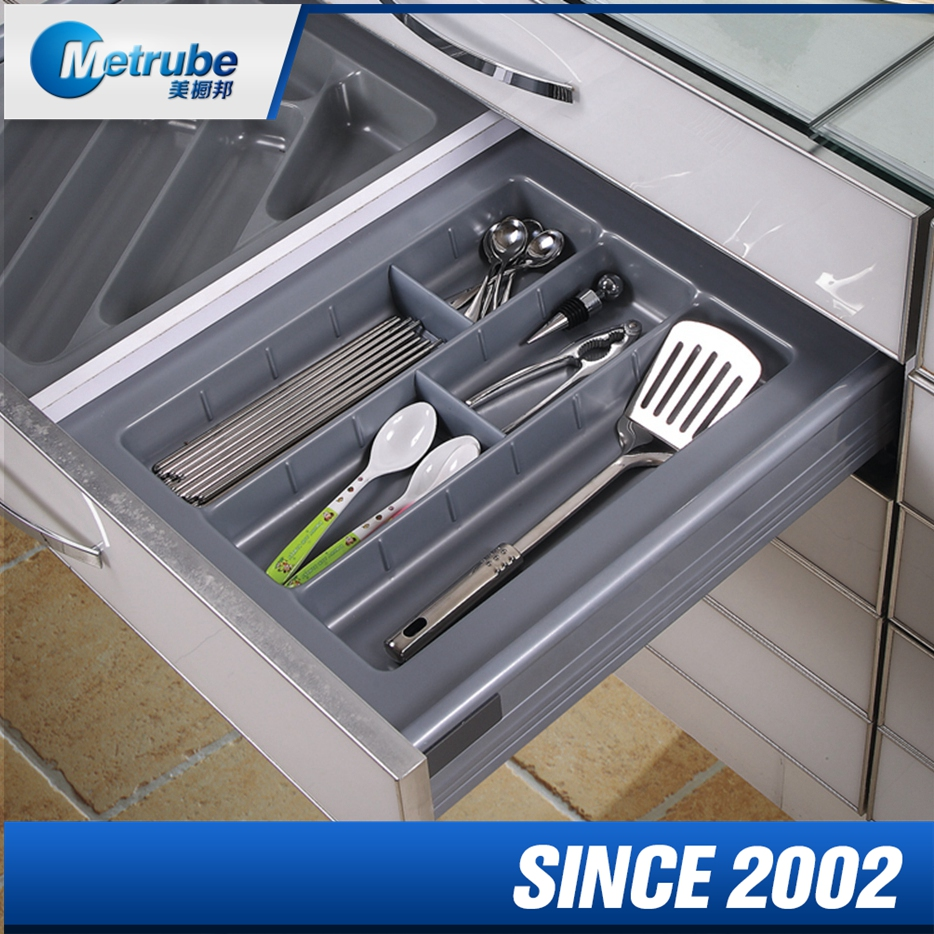 Top Sales Inside Drawer Plastic Cutlery Tray Factory Price For Kitchen