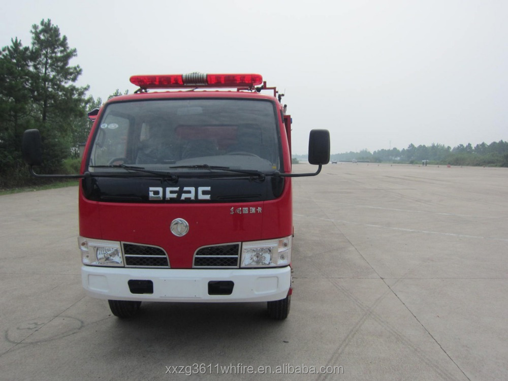 China Supplier Emergency Rescue 4*2 water tank mini truck diesel