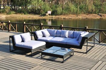 Rattan Garden Furniture L Shape wholesale wicker outdoor garden furniture rattan l shaped sofa set