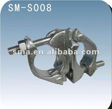Scaffolding construction pipe connection swivel coupler ( Real Factory in Guangzhou )