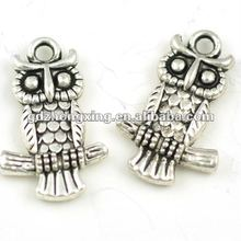 Alloy Owl floating charms wholesale12*20mm A14974