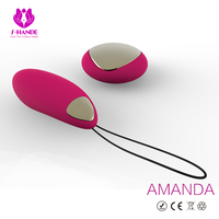 Vibrator in pussy for lady,Sex toys Waterproof Bullet Vibrator Amanda