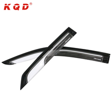 Weather guard car sun visor window new wind deflectors for toyota fortuner 2016