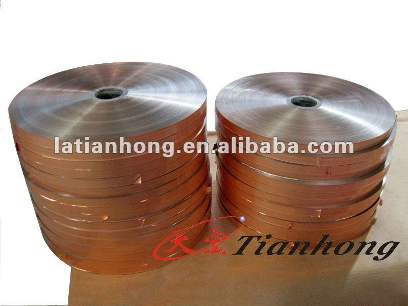 Blue Aluminum mylar PET insulation film for cable