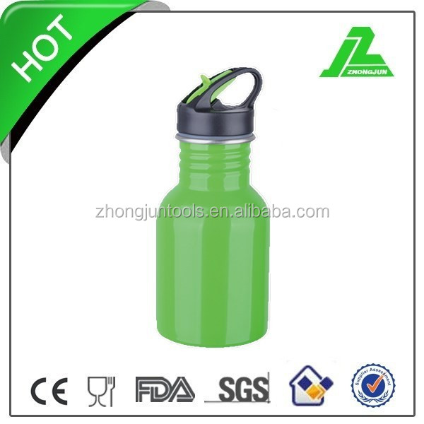 250ml Aluminum Sport Water Bottles Baby Bottle Camping Bicycle Aluminium Drinking Flip Top