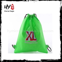 Logo imprinted nonwoven shopping bag, rope bag, nonwoven backpack