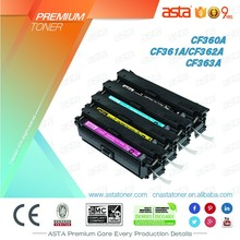 Compatible Laser Printer Toner Cartridge for CF360A printer consumables