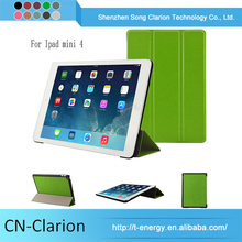 Best Selling PU Universal New Design Tablet Case for ipad mini folding case(R64 PU)