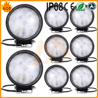 2016 NEW Arrival 21W Round LED Work Light For Truck Off road Driving Lamp Spot beam SUV ATV
