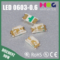 high bright 500mcd chip led rgb mini color changing 0603 light emitting diode