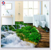 Customized Self Adhesive Bathroom Washable Printing Decorative Diy Wall Sticker