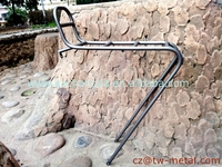 Customized Titanium bicycle rear rack Ti bike luggage carrier Ti bike luggage holder