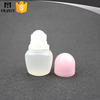 60ml plastic roll on deodorant empty bottle for cosmetic packaging