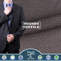Good quality Suiting Polyester rayon fabric stock lot in China