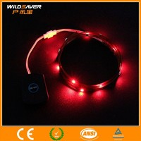 led solar strip light/ 12v rechargeable battery led strip/dip led strip