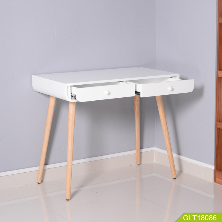 2020 modern table with drawers