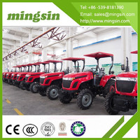 45hp tractor for hot sale, with front loader, backhoe,mower and rotary tiller