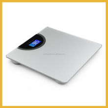 High Accuracy Digital Bathroom Scale with Backlit Display and Step-On Technology