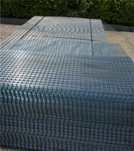 Free samples Welded wire mesh fence panel 1/4 inch galvanized welded wire mesh