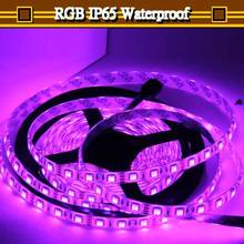 16FT 5050 RGB LED Strip 5M 300 Leds SMD Flash Flex light Waterproof 12V DC