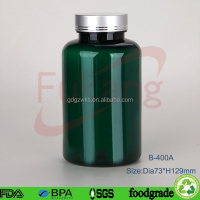 Supplier in the philippines plastic bottle 400ML GREEN COLOR PLASTIC PILL BOTTLE
