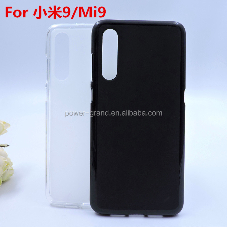 Soft Frosted Pudding TPU phone protective case cover for Xiaomi Mi 9