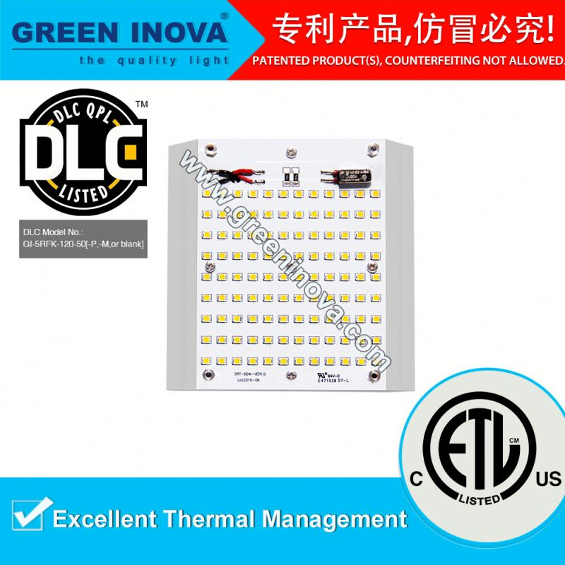 DLC Premium 100000 hours lifespan slim street lighting parts for LED