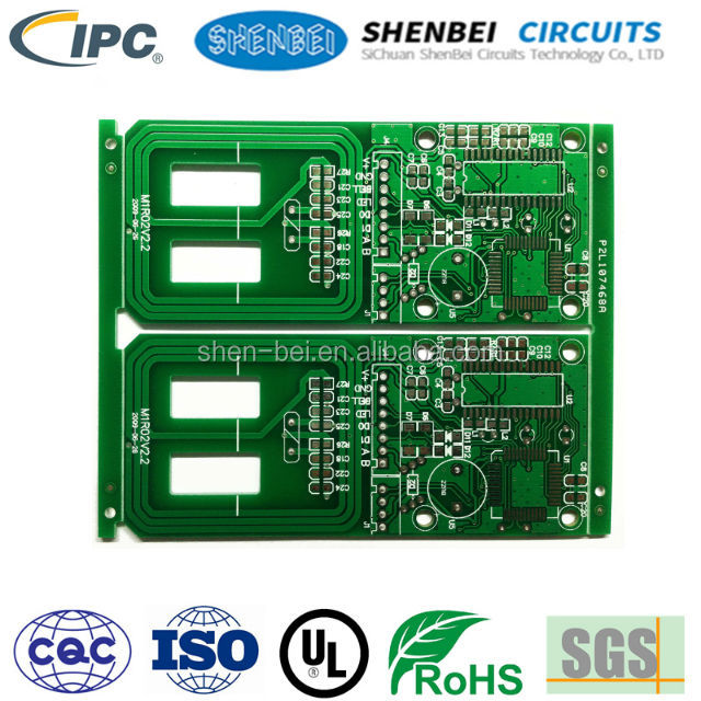 HAL free lead circuit board solder MASK Heavy cooper temperature controller pcb motor control 94v0 remote control pcb factory
