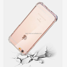shockproof case for samsung galaxy note8 S8 + S7 Edge + S6 Edge + For iphone X 100% Fit Airbag Clear Custom OEM