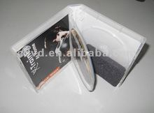 12cm dvd replication in transparent Multi Disc DVD Case