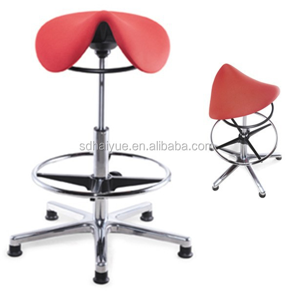 HY1034 High standard quality popular specialist saddle stool saddle stool for office, home and lab use