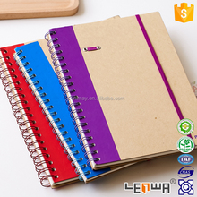 Recycled Kraft Paper Notebook With Pen Holder