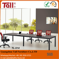 New model office furniture executive desk with leather long table workstations