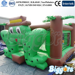 Inflatable Frog Bounce House Mini Bounce House