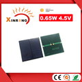 Customized 0.65w Mini PET Solar Panel 4.5V