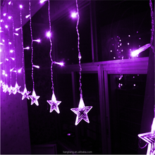 Christmas Twinkle Star LED Curtain Icicle Lights Wedding Party Lighting Decoration