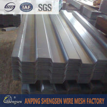 used galvanized corrugated metal roofing sheet with factory price