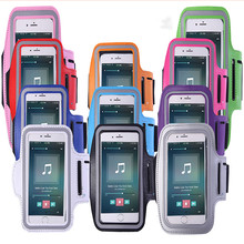 Outdoor sports running mobile phone bag waterproof wrist reflective armband