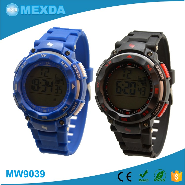 latest fashion boy youth waterproof high quality hot sell factory price 3 atm waterproof digital sport...