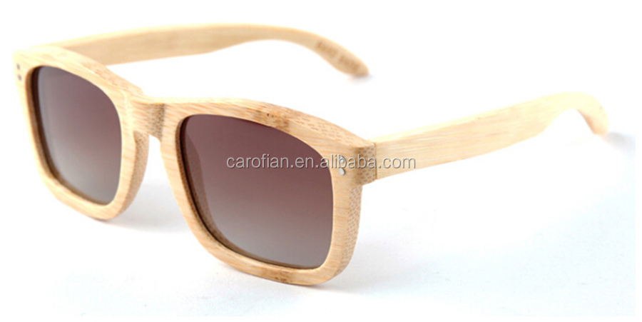 neutral fashion high-quality wooden bamboo half frame sunglasses wooden bamboo framed sunglasses wooden photo frame