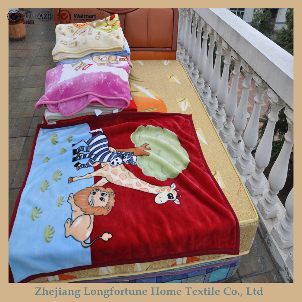 2015 super soft high quality 100% polyester hot sales best selling baby toys types of blanket
