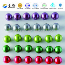 High quality 0.68 inch caliber round Colorful Paintballs manufacturer