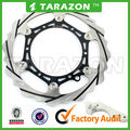 Floating Motorbike Front Grooved 270mm Disc Brake Oversize Rotors with Bracket for KTM EXC/SX/MX/GS/XC