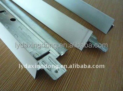 gypsum board accessories/metal T bar for ceiling