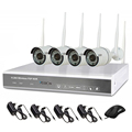 Outdoor P2P Surveillance 4CH Wireless WIFI NVR camera kit/ 960P HD Mobile surveillance 4ch security system