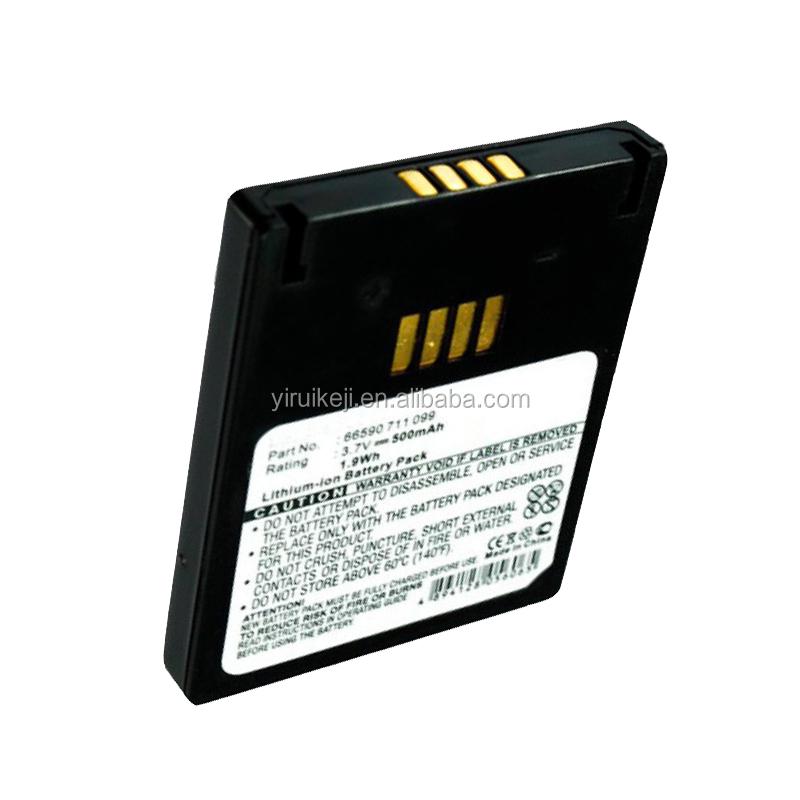 Li-polymer battery 3.7V 500mAh replace VAR TA EASYPACK S Battery for Easypack Poliflex 550, EasyPack 550, EasyPack 610,